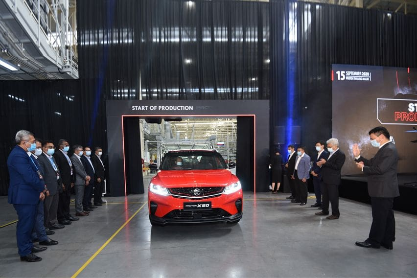 Proton X50 locally-assembled