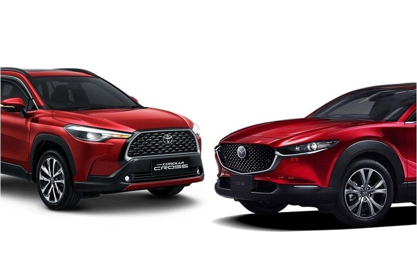 Toyota Corolla Cross vs Mazda CX-30, Pilih yang Ekonomis atau Canggih?