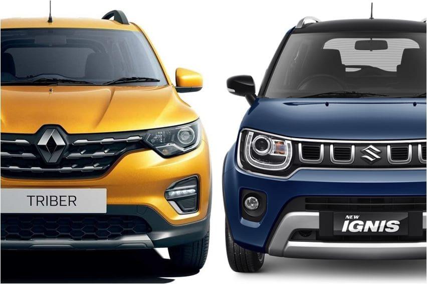 Dua Mobil Kompak Bergaya SUV, Pilih Renault Triber atau Suzuki Ignis?