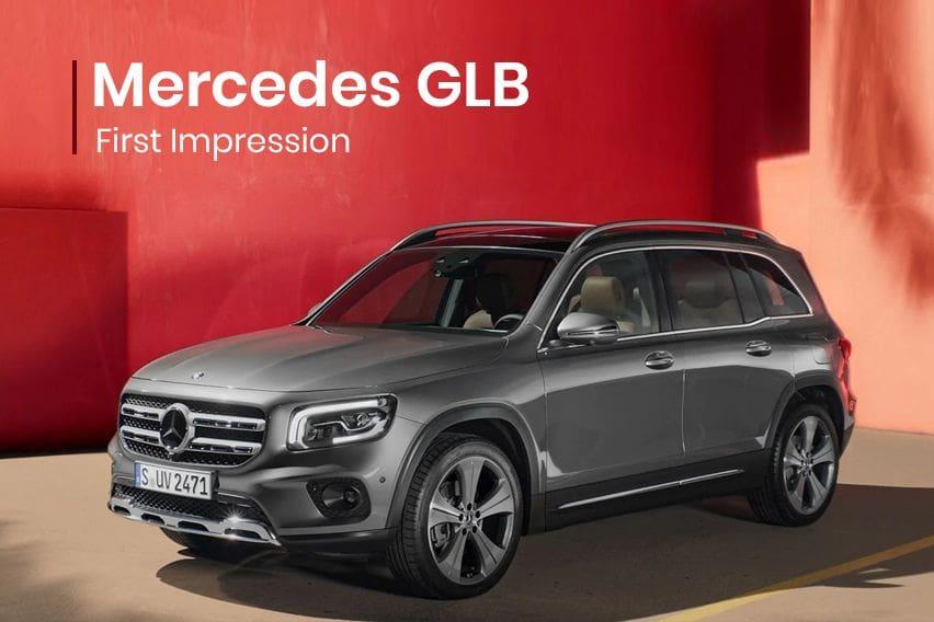 Mercedes GLB: First impression