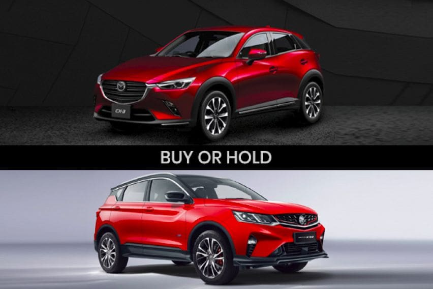 Buy or Hold: Wait for Proton X50 or buy Mazda CX-3?