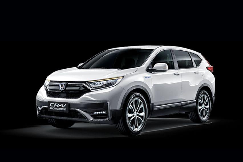 Honda CR-V PHEV in China