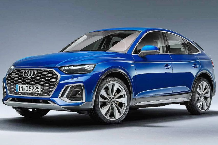 2021 Audi Q5 Sportback revealed with a sloping roofline
