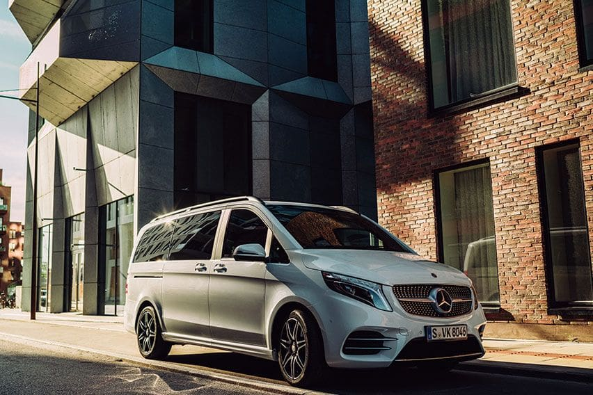 Mercedes-Benz V-Class: Upsized comfort and luxury