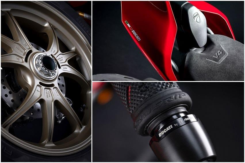 Aksesori Ducati Streetfighter V4 performance