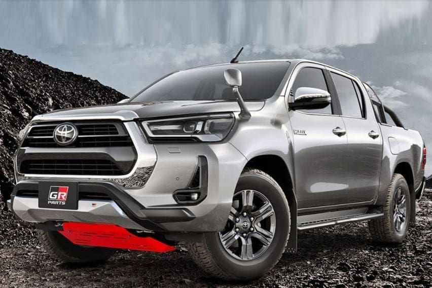 New Toyota GR Hilux could strongly rival the Ford Ranger Raptor