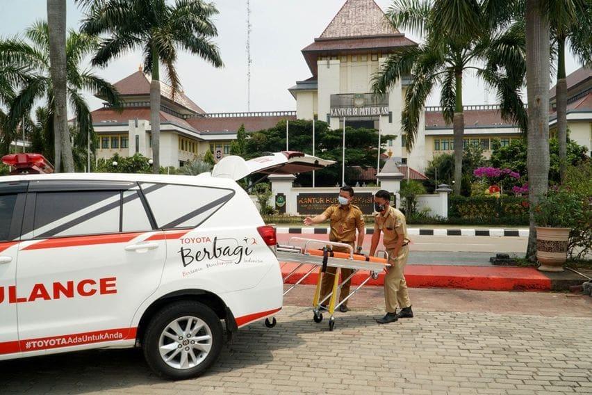 donasi innova ambulans