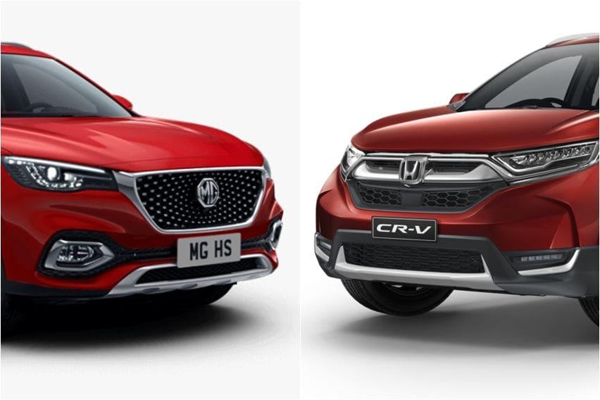Pantaskah MG HS Ditandingkan dengan Honda CR-V Turbo?