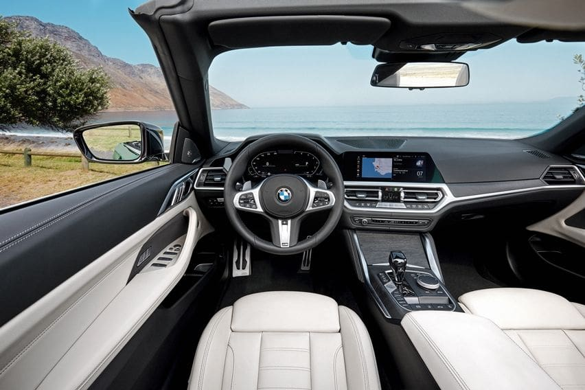 4 series interior
