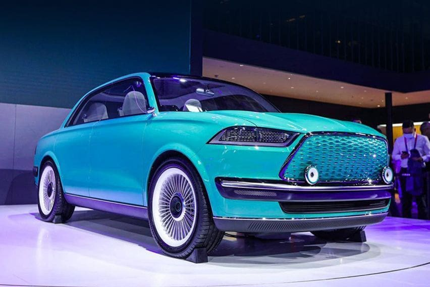 Great Wall Motors unveiled the Futurist concept
