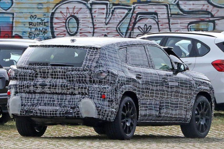 Spyshot BMW X8