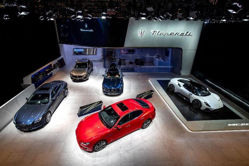 Maserati MC20 makes its China debut