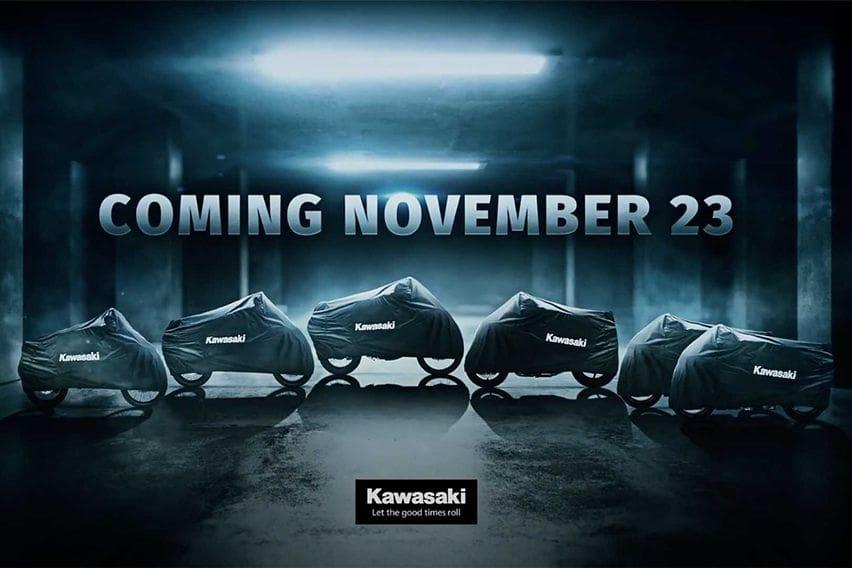 Kawasaki Siap Rilis Enam Model Baru Bulan Depan