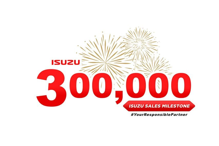 Isuzu PH announces reaching 300K units in sales, arrival of all-new D-Max in 2021
