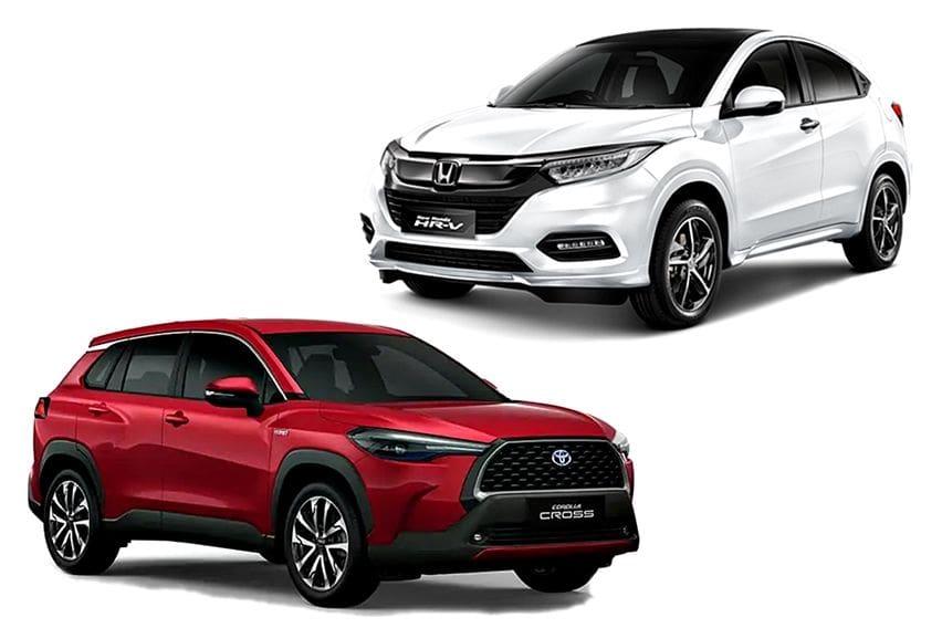 Komparasi Crossover Kompak 1,8 liter: Toyota Corolla Cross vs Honda HR-V Prestige