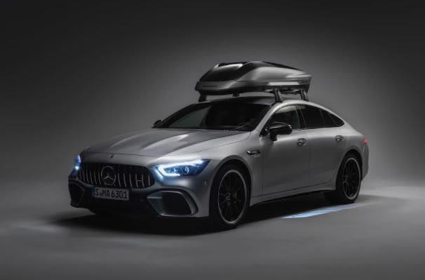 Mercedes-AMG Kenalkan Roof Box Aerodinamis, Punya Sirip dan Diffuser Sendiri