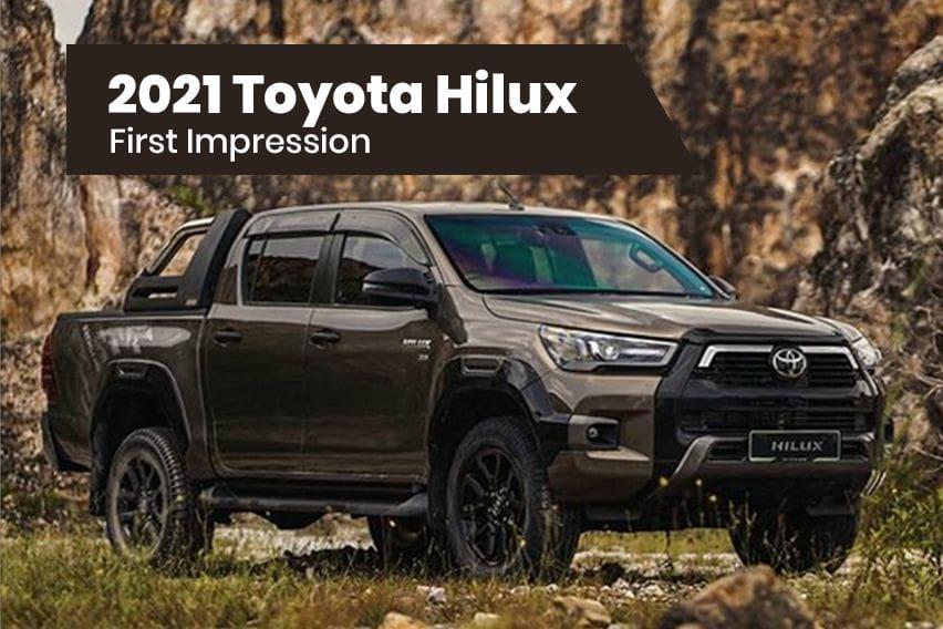 2021 Toyota Hilux: First impression