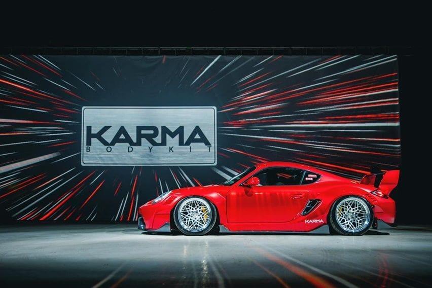 Tampil Mentereng di IMX 2020, Porsche Cayman Pakai Body Kit Karma Senilai Rp 50 jutaan