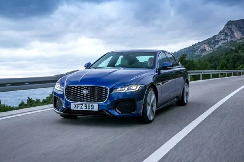 2021 Jaguar XF gets a mid-cycle refresh