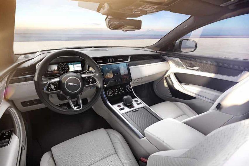 2021 Jaguar XF cabin