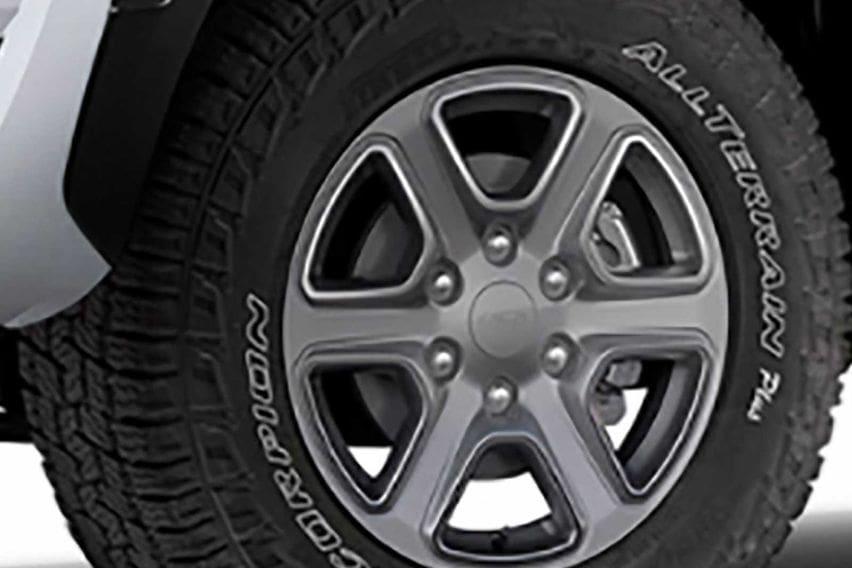Ford Ranger tyre