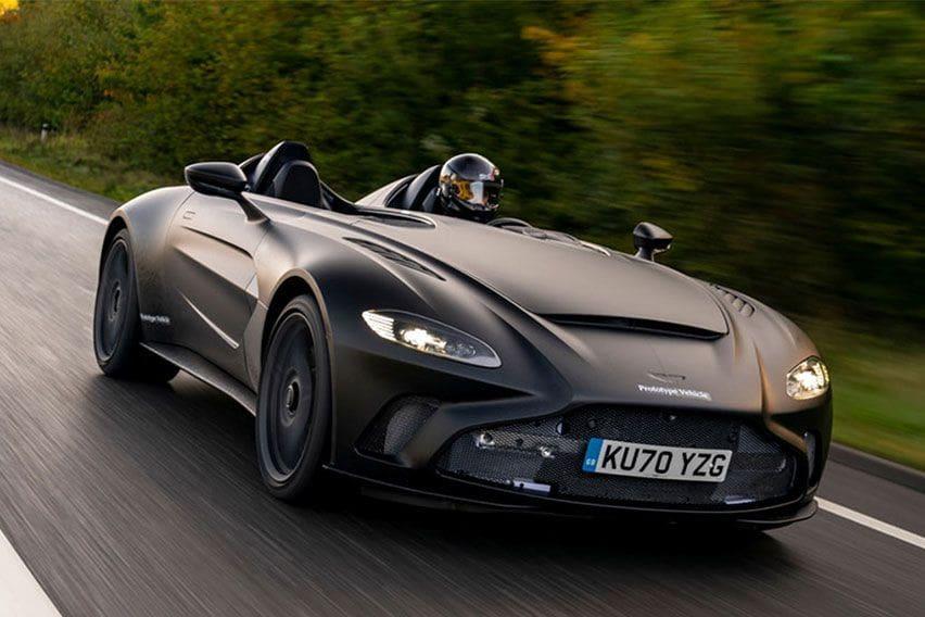 Aston Martin V12 Speedster Uji Jalan, Tampilannya Keren Abis