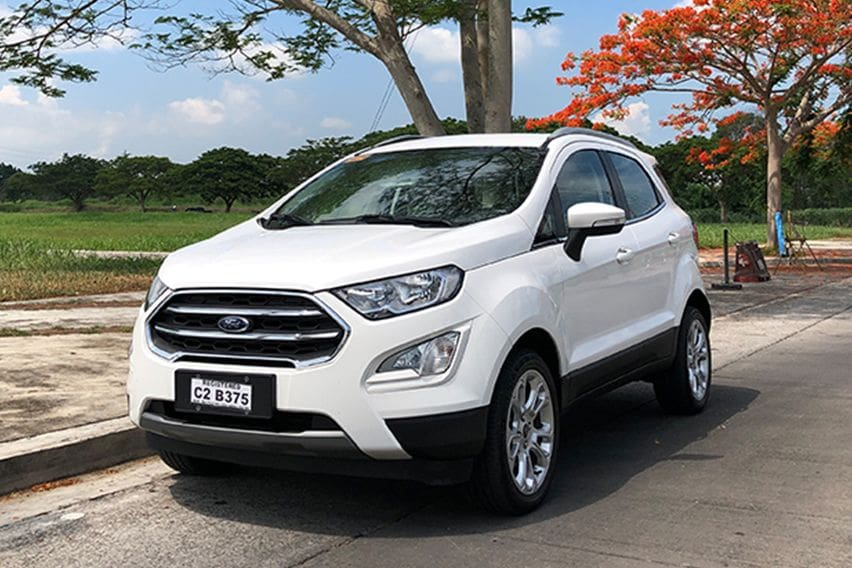 All the Ford EcoSport variants at a glance