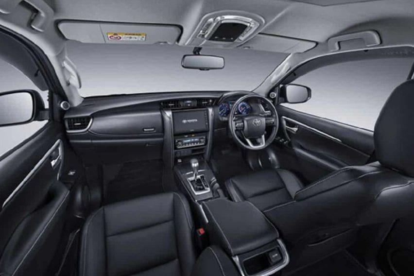2020 Toyota Fortuner TRD interior