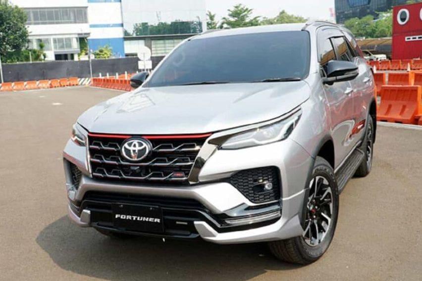 2020 Toyota Fortuner TRD EXTERIOR