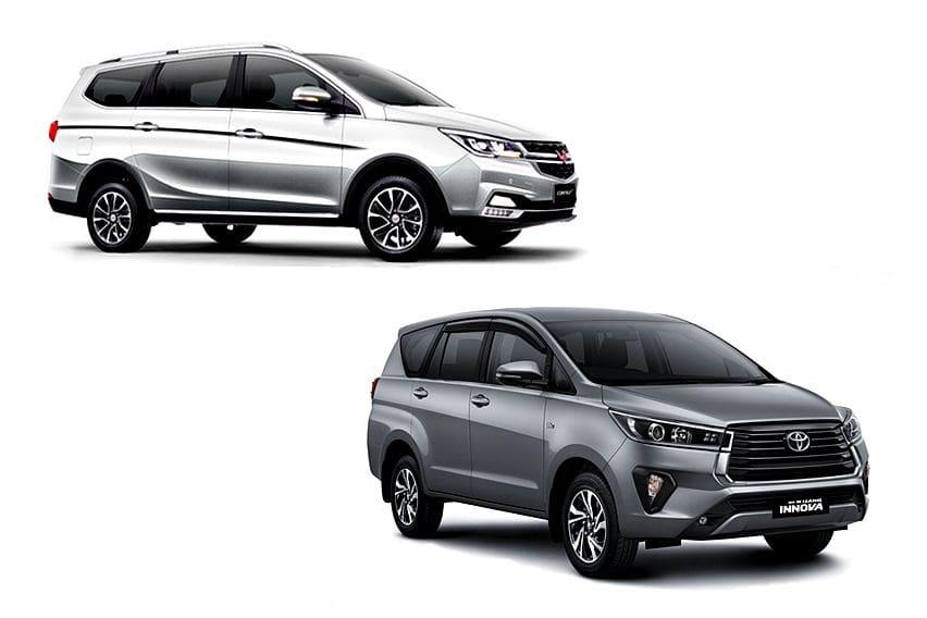 Opsi MPV Kasta Tinggi, Ambil New Toyota Innova V AT atau Wuling Cortez L CVT?