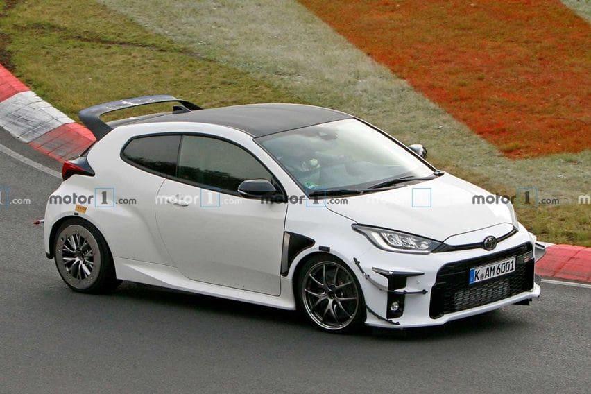 Toyota GR Yaris Tertangkap Basah di Nürburgring dengan Bodi Lebih Gahar