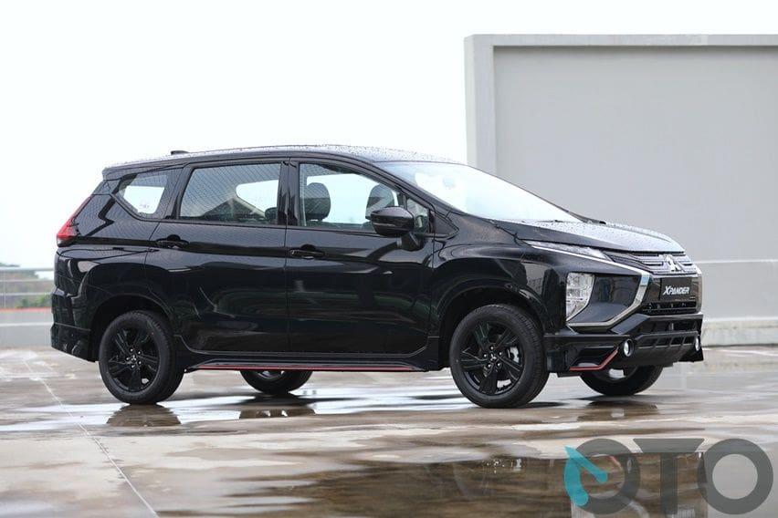 Mitsubishi Xpander Black Edition Lebih Murah Rp 3 4 Jutaan Dari Tipe Sport Menarik Untuk Dibeli Oto