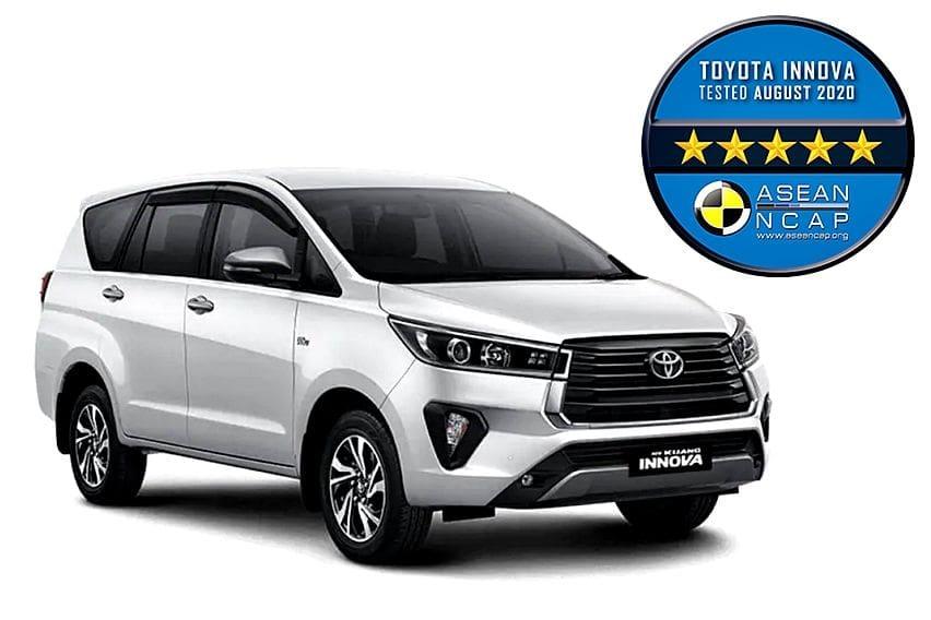 Toyota Kijang Innova Varian Termurah Dapat Rating Uji Tabrak Sempurna dari Asean NCAP