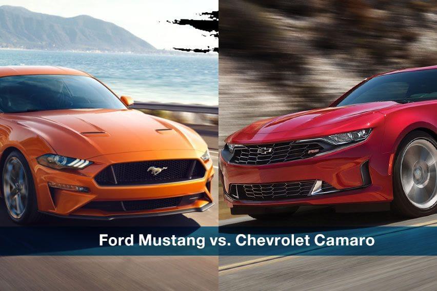 Pony war: Ford Mustang vs. Chevrolet Camaro