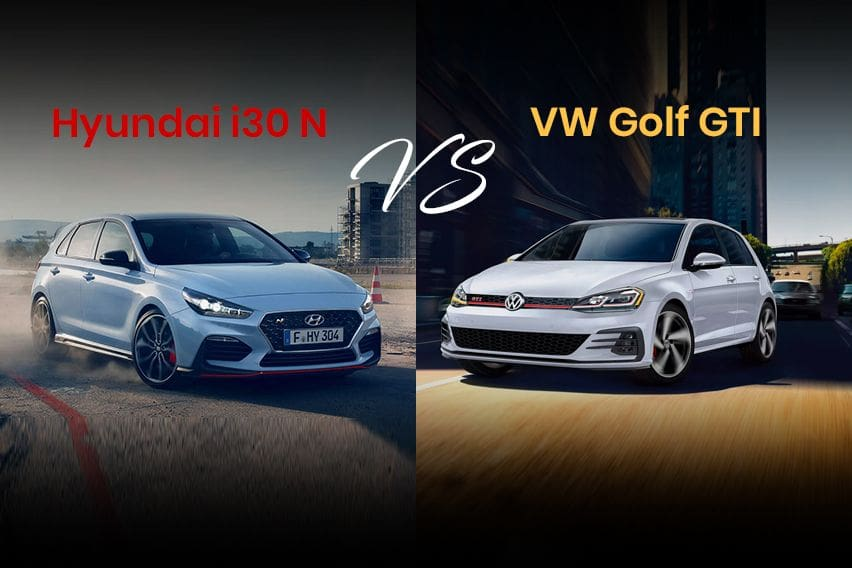 Volkswagen Golf GTI vs. Hyundai i30 N: Search for the hotter hatch?