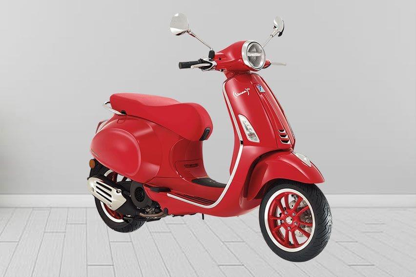 Vespa Primavera (RED) Edisi Terbatas Hadir Lagi, Dijual Rp 53,6 Juta