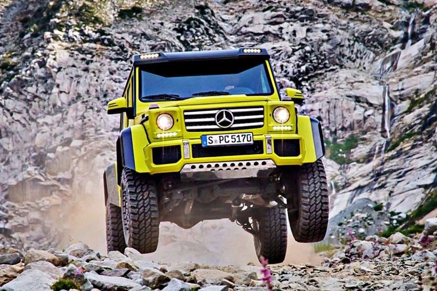 Berkenalan Lebih Dekat dengan Para Mutan Bigfoot Mercedes-Benz