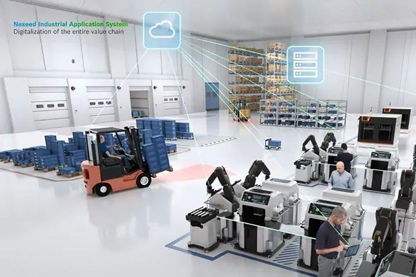 Bosch Perkenalkan Nexeed, Software yang Bantu Efektivitas Produksi Manufaktur