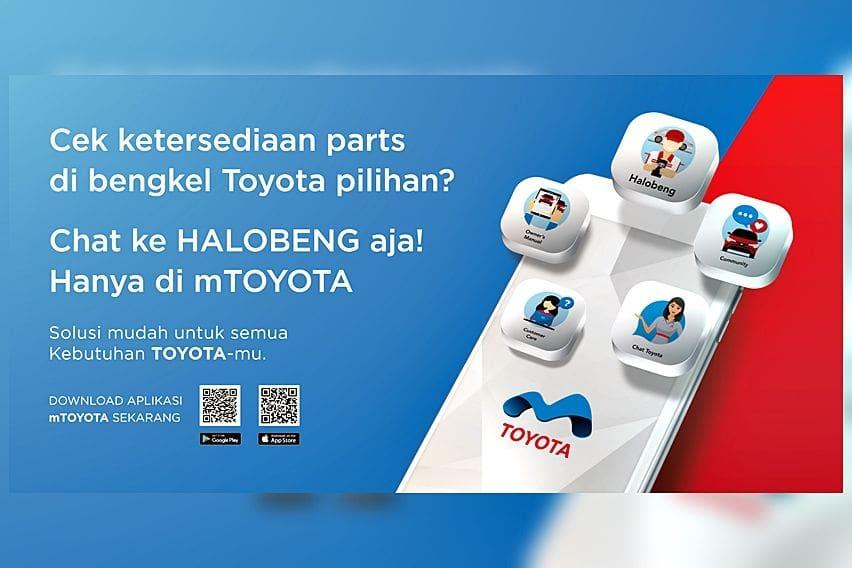 Toyota Kenalkan Layanan Halobeng, Mudahkan Konsultasi Perawatan Mobil Tanpa Perlu ke Bengkel