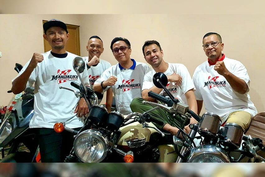 MotoGP: Biar Viral, Selebritas Raffi Ahmad Jadi Ambassador Mandalika Racing Team