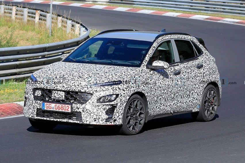 Hyundai Kona N Tengah Disiapkan, Tampak Asyik Mengulik Nürburgring