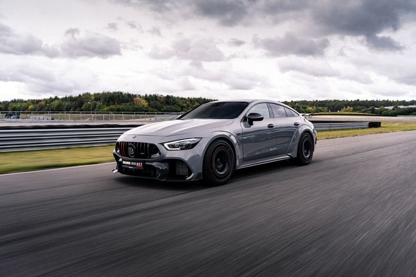 10 Unit Mercedes-AMG GT 63 S Digarap Brabus, Power Meningkat Jadi 900 hp