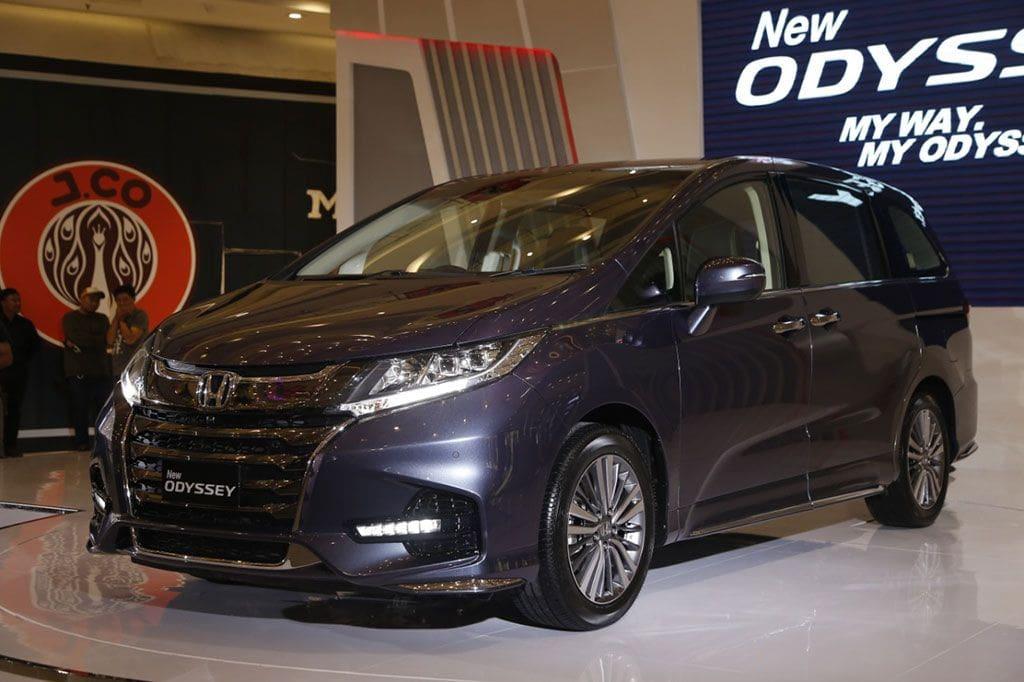 Catatan 26 Tahun Perjalanan Honda Odyssey, Dari Wagon Ke Premium Van