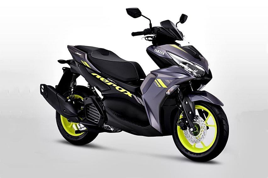 All New Yamaha Aerox 155 Connected Meluncur, Harga Mulai Rp 25,5 juta!