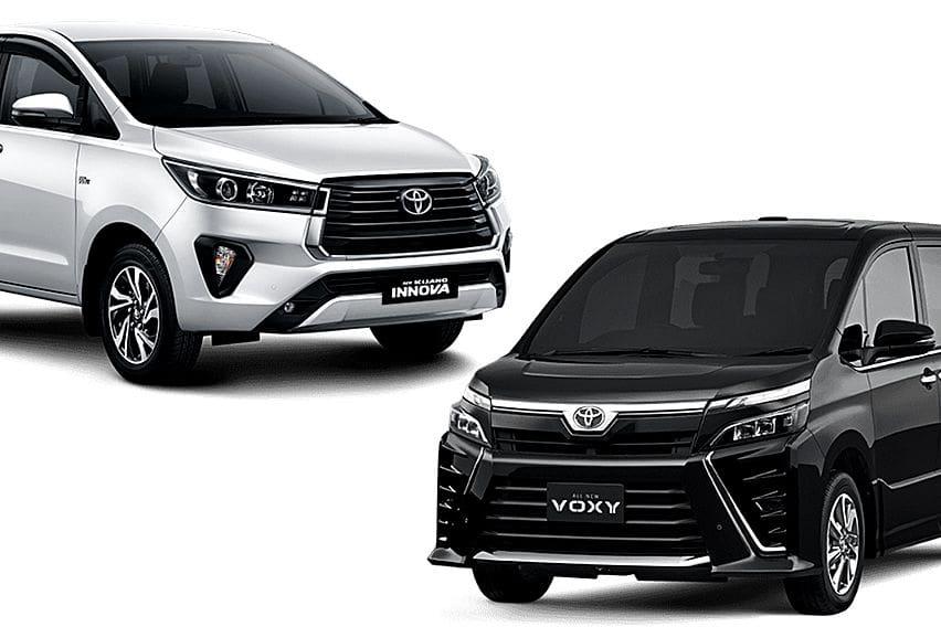 Dilema Antara Dua Karakter Berbeda, Pilih Toyota Kijang Innova tipe V atau Voxy Bekas 2019?