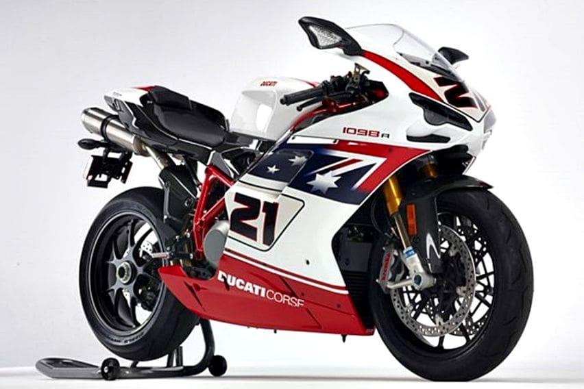 Sisa Satu Unit, Ducati 1098R Troy Bayliss Limited Edition Dijual Rp 300 jutaan