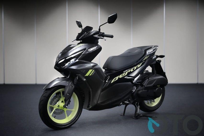Simak DP dan Cicilan All New Yamaha Aerox 155 Connected