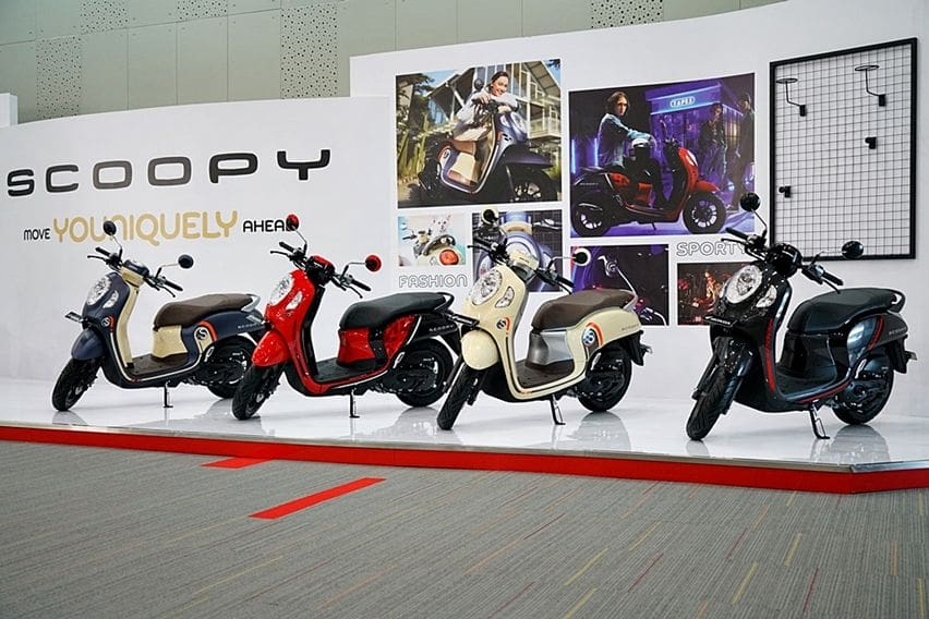 Honda Scoopy Generasi Terbaru Dirilis Bersamaan dengan Kepulangan Habib Rizieq Shihab ke Indonesia