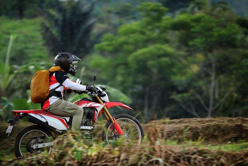 Test Ride Honda CRF150L, Melepas Rindu Blusukan ke Cipamingkis