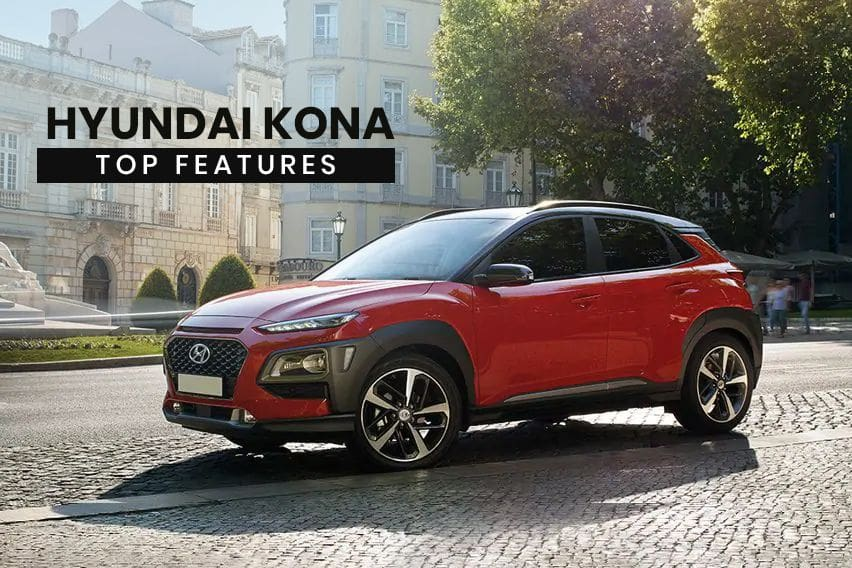 Hyundai Kona: Top features